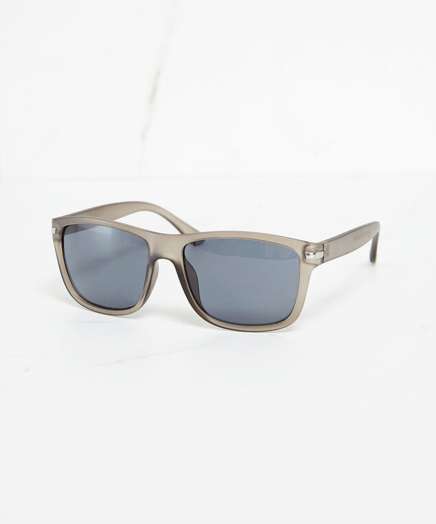 matte grey sunglasses, Grey, hi-res