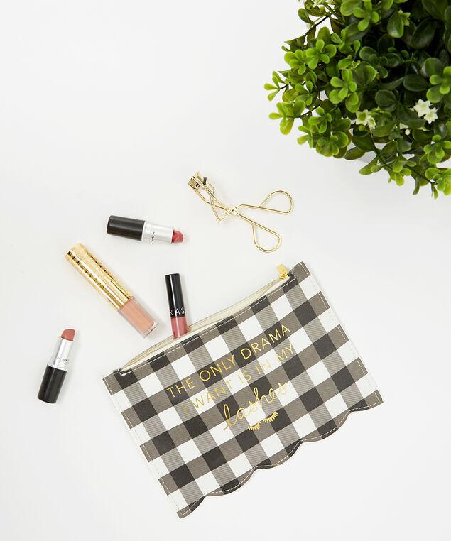 make-up pouch and eyelash curler, BLACK, hi-res