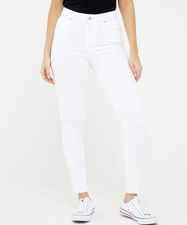 soft white high rise skinny 0204, , hi-res