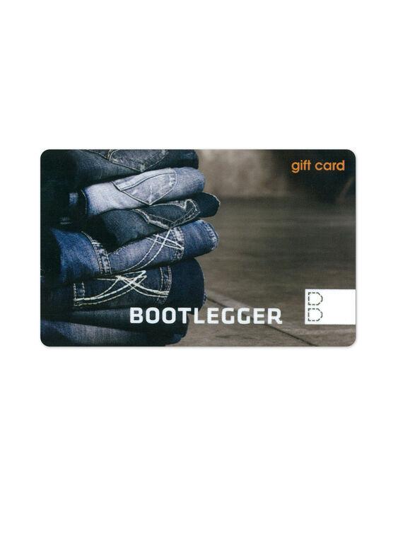 Bootlegger Gift Card,