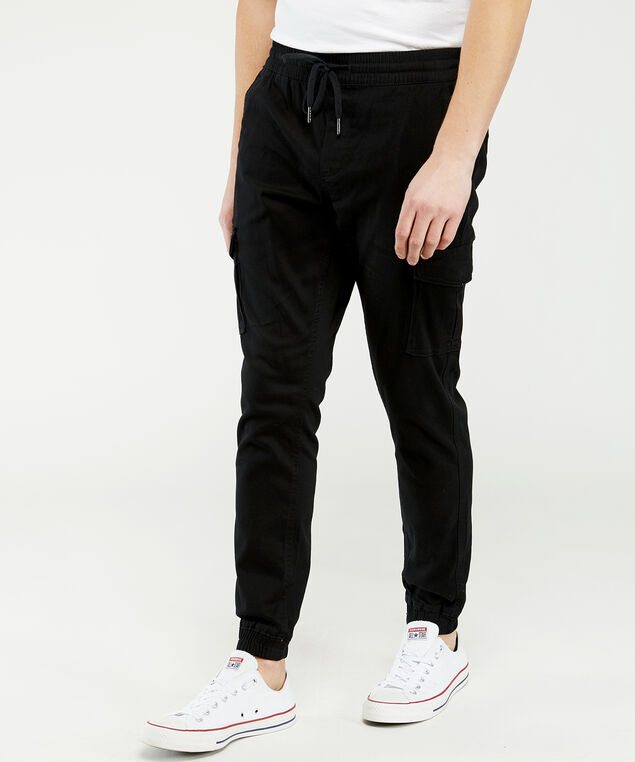hedge basic jogger, Black, hi-res