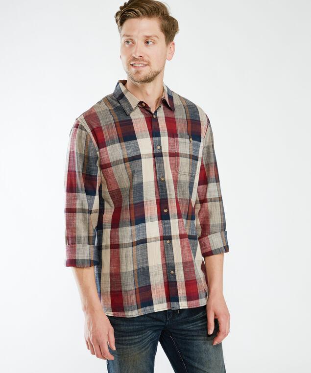 london long sleeve shirt, Multi Plaid