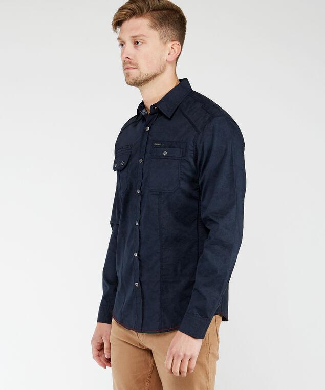 long sleeve shirt, Navy