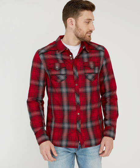 howell, RED PLAID, hi-res