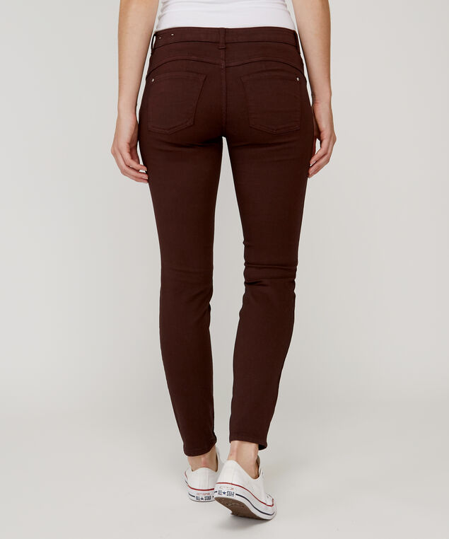 skinny ankle colour push up h18 currant, , hi-res