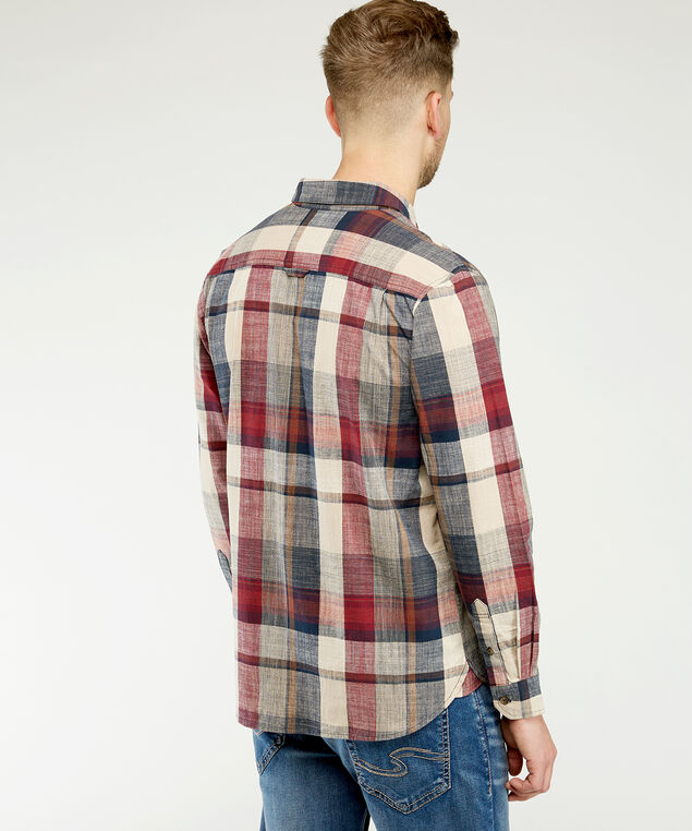 london, Brown Plaid