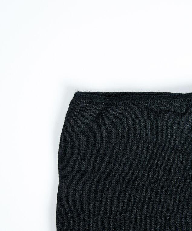men's neck warmer, Black