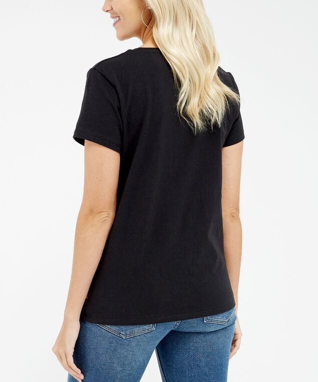 the perfect tee, Black