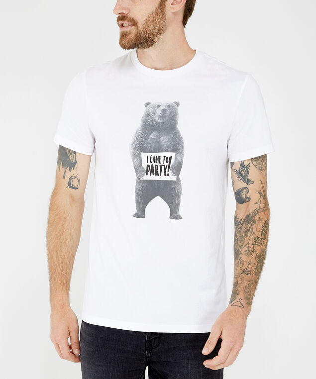 party bear, WHITE, hi-res
