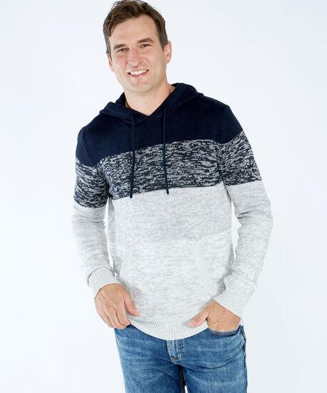 striped hoodie, Blue Pattern, hi-res