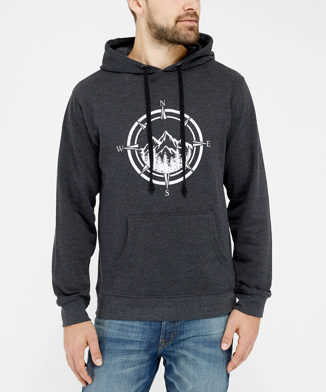 mountains fleece, Black, hi-res