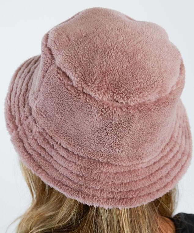 teddy bucket hat, Mauve