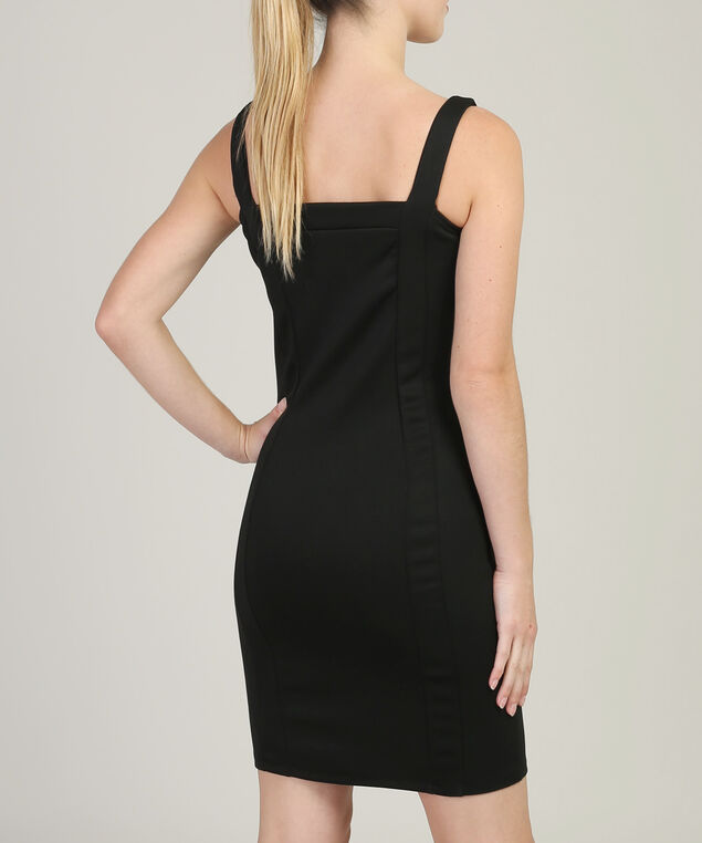 bodycon party dress - wb, BLACK, hi-res