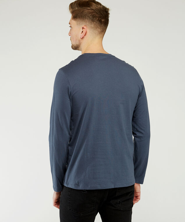 owen long sleeve fashion, Denim, hi-res