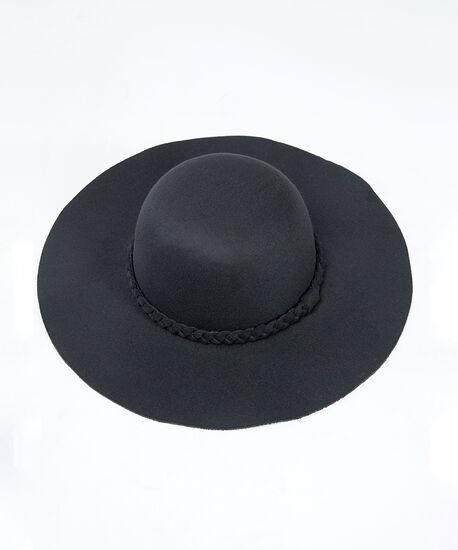 floppy hat, Black, hi-res
