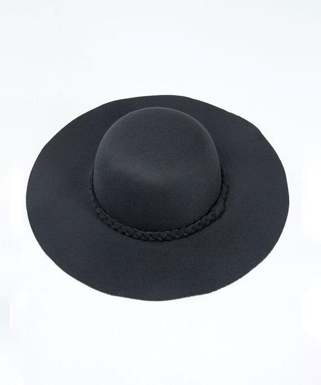 floppy hat, Black