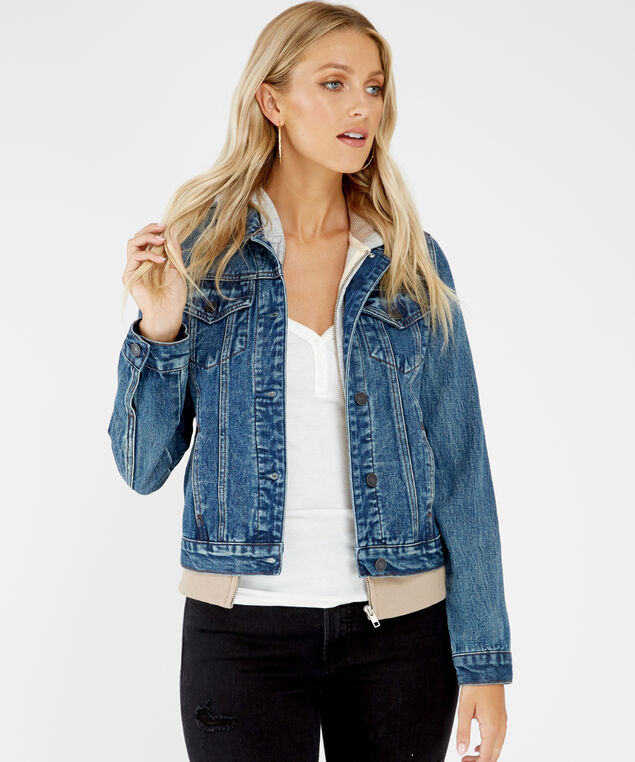 denim jacket f19, Washed, hi-res