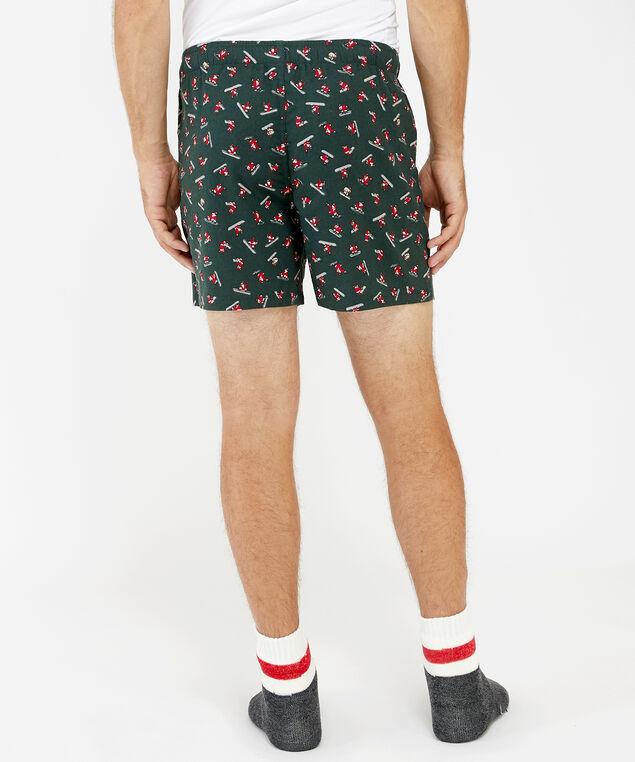 holiday boxer short, snowboard santa, hi-res