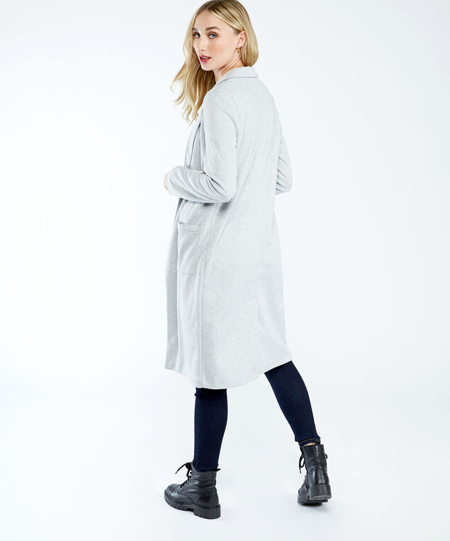 long blazer, Light Grey
