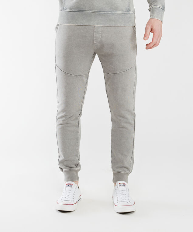 vintage wash pants, Grey