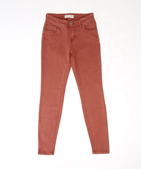 colour skinny ankle f2 rust, , hi-res