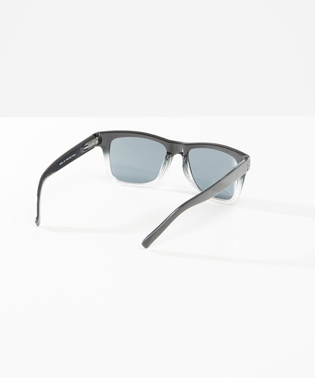 black ombre sunglasses, Black, hi-res