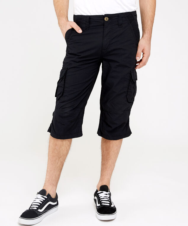 cargo messenger short, BLACK, hi-res