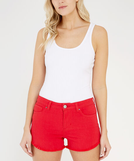 colour shortie hr red, Red, hi-res