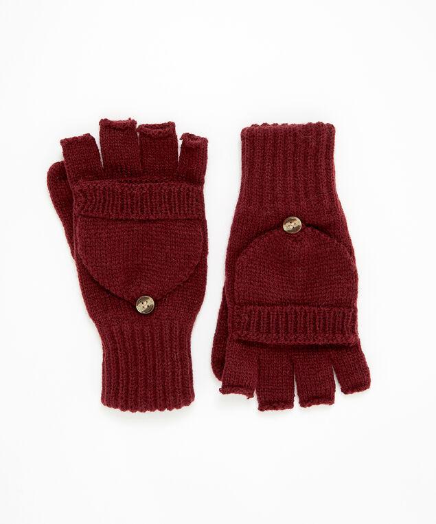 flip mittens, WINE, hi-res