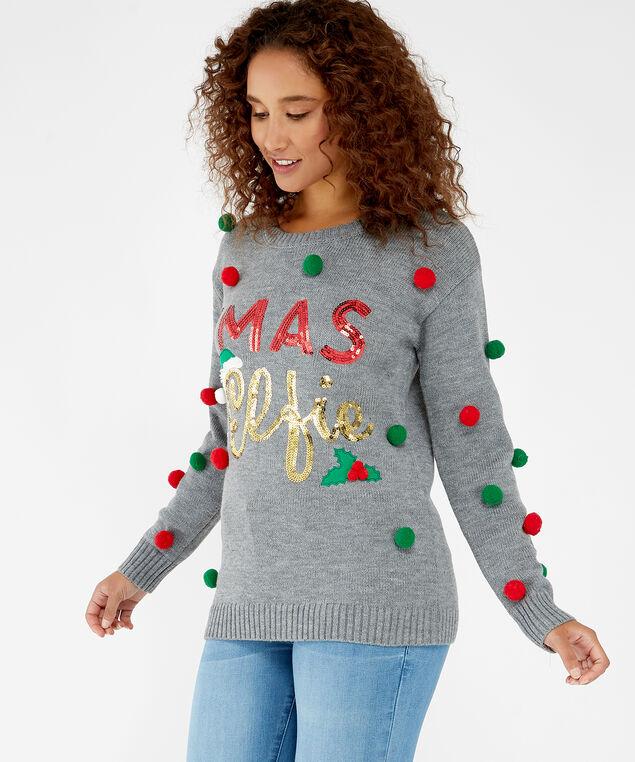 festive elfie, Grey, hi-res