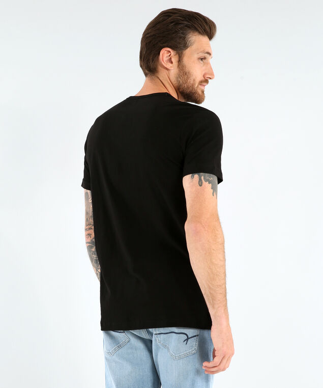 henley tee with fooler - wb, BLACK, hi-res