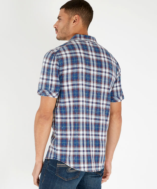 fox spring 19, BURGUNDY/INDIGO PLAID, hi-res