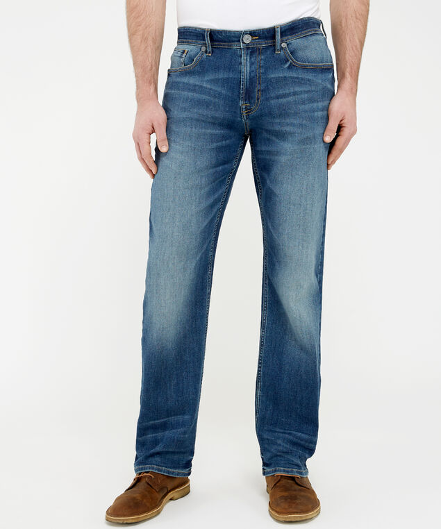 straight dsw soft flex denim, , hi-res