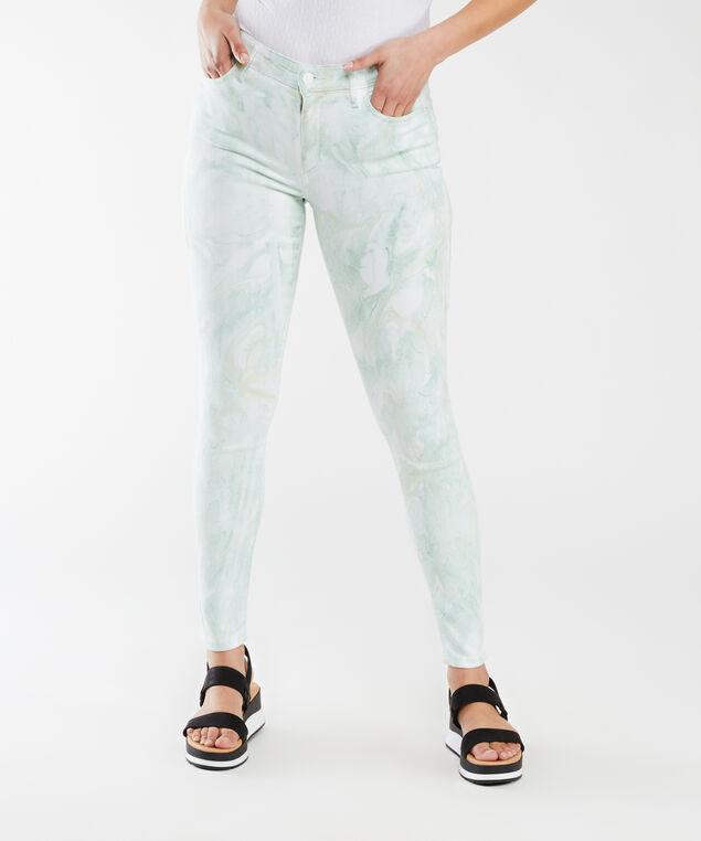 1981 faded tie dye jeans,