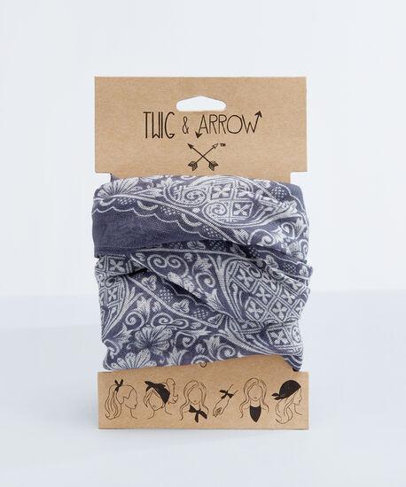 versatile bandana scarf, FLORAL PRINT, hi-res