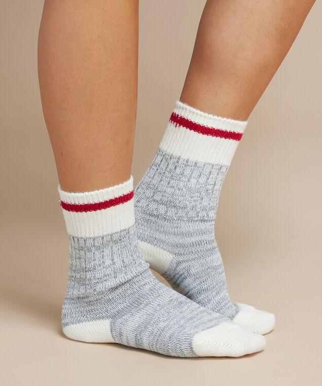 women's cabin crew socks, GREY MIX, hi-res