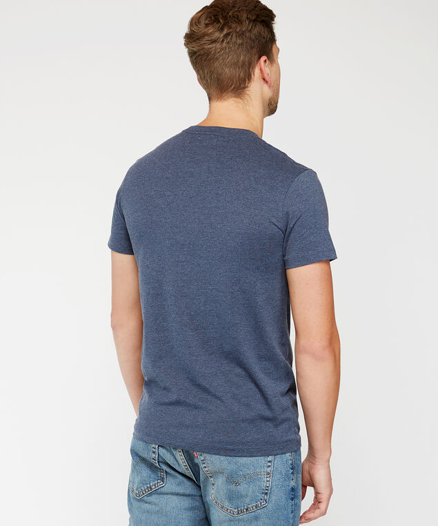 beer list tee, Blue