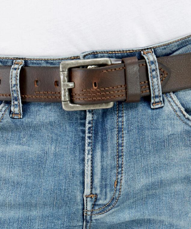 hammered belt, BROWN, hi-res