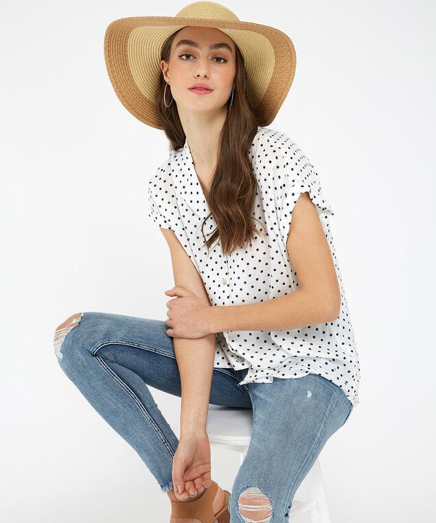 floppy hat, Ivory, hi-res