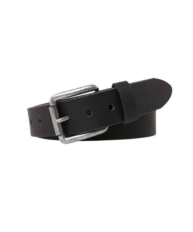 leather belt, BLACK, hi-res