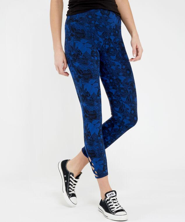 nala lattice print legging, FLORAL PRINT, hi-res