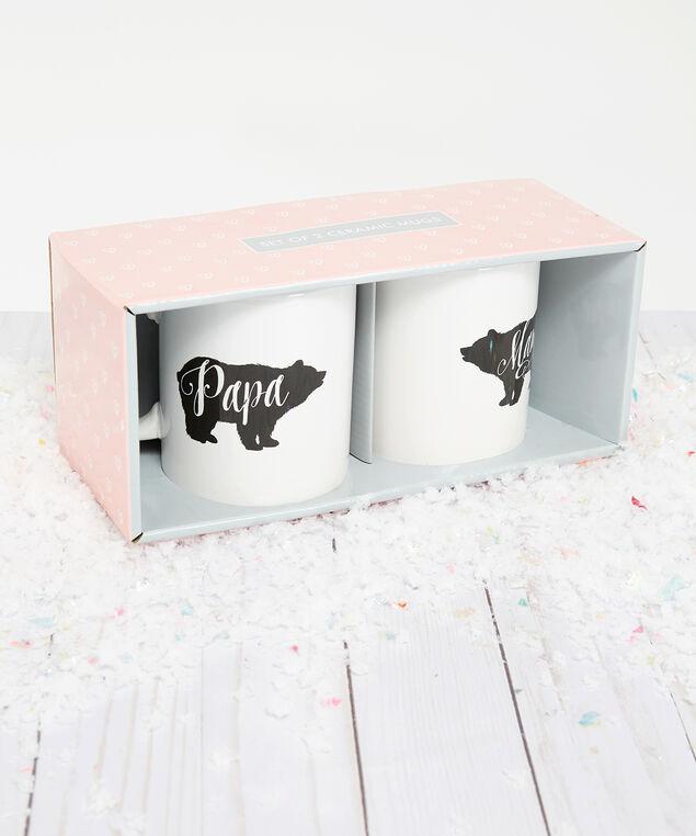 mama and papa bear mug set, White, hi-res