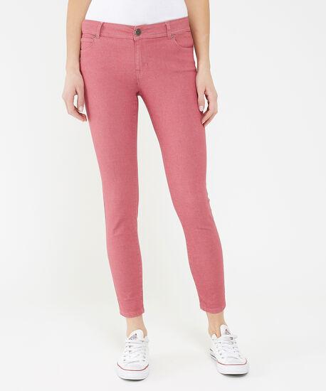 skinny ankle colour baked pink, , hi-res