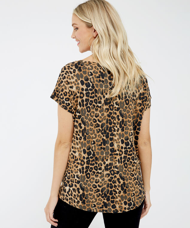 leopard print tee - wb, Leopard print, hi-res