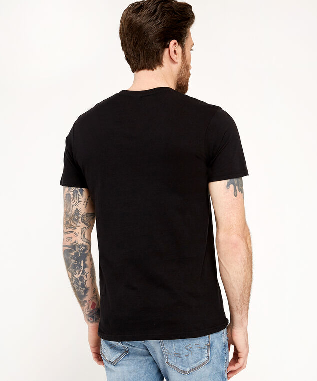 red hot chili peppers tee, BLACK, hi-res