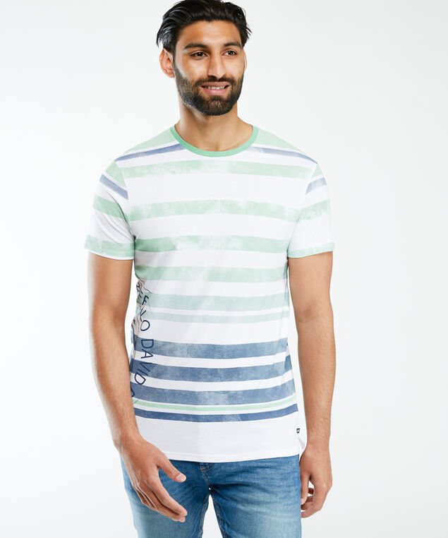 vintage screen print t-shirt, White