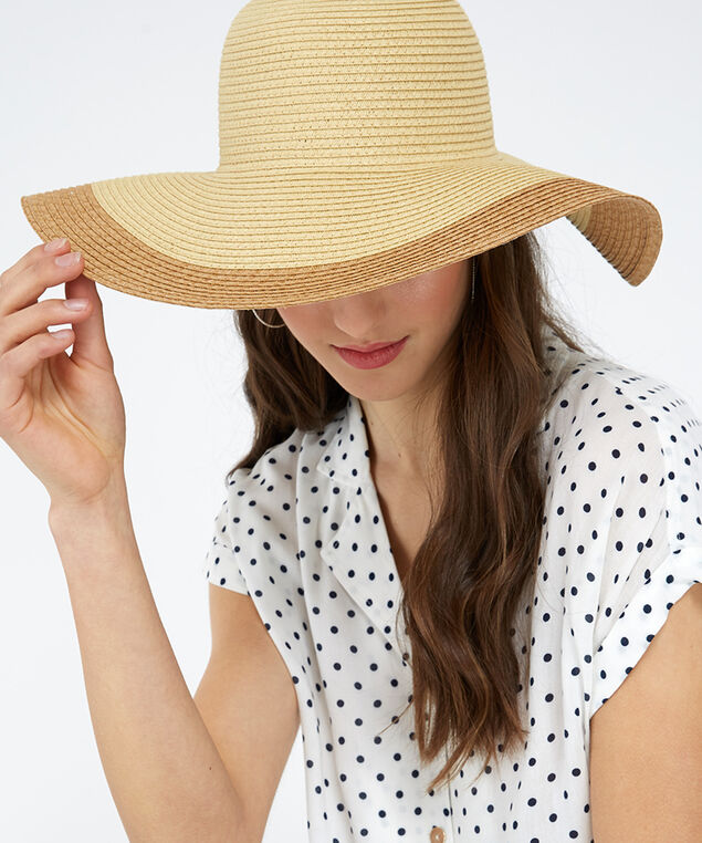 floppy hat, Ivory, hi-res