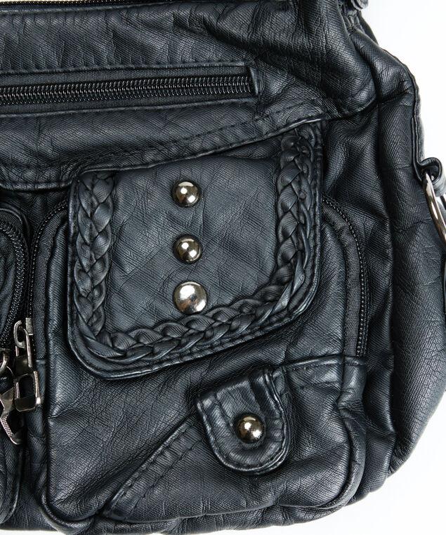 crossbody bag, Black