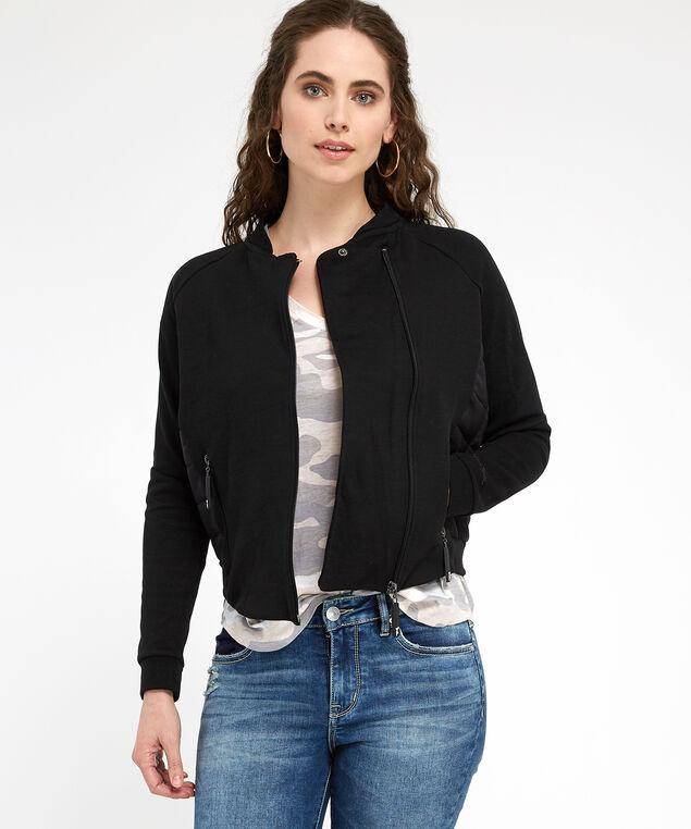 light weight jacket - wb, BLACK, hi-res