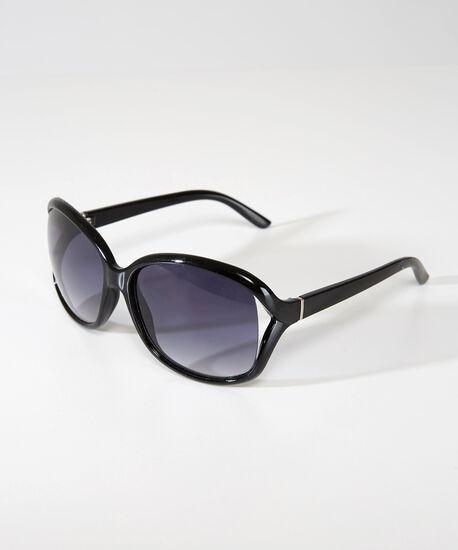 square sunglasses, BLACK, hi-res